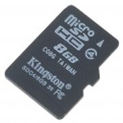Kingston micro SDHC minnekort (8GB)